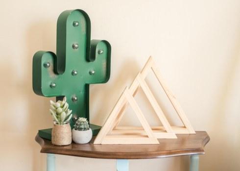 Triangle Shelves - Timber Grove Studios