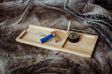 Rolling Tray - Sir Nicholas Smoke